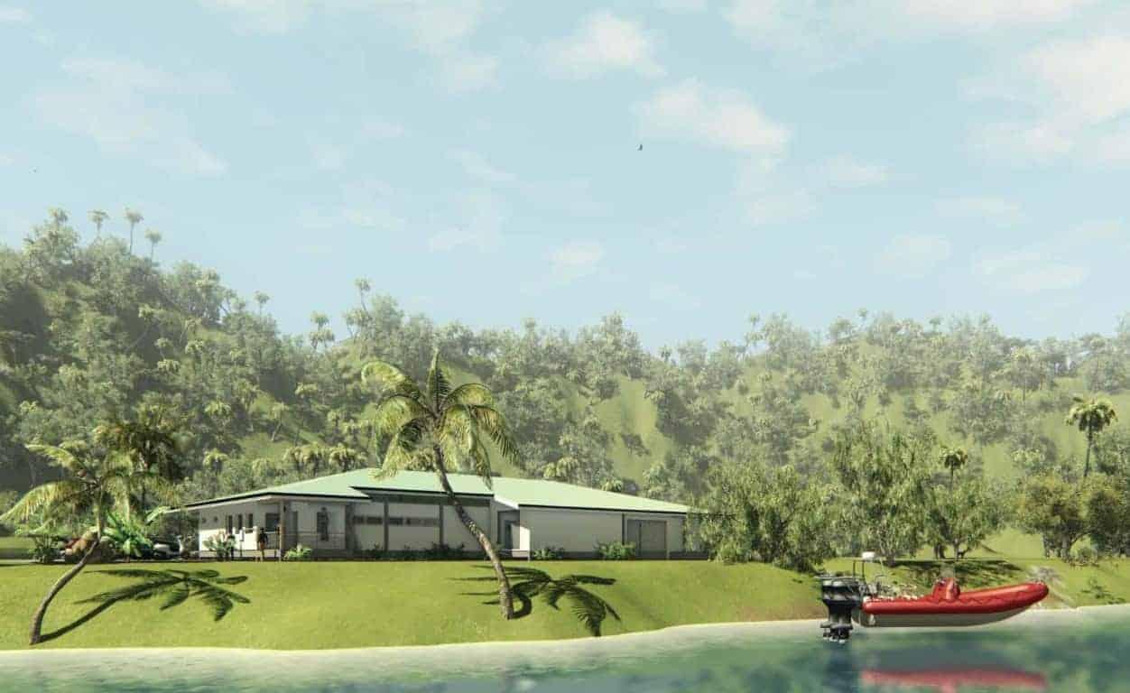 Construction d'un centre de production de micro-algues et de ciguatoxines (1)