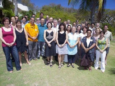 Rencontre entre les partenaires d'organismes de recherche et de santé du Pacifique pour l'élaboration d'un projet commun sur la dengue (Workshop ILM - Programme DEN-PACSUD, 2012, Tahiti) - © ILM